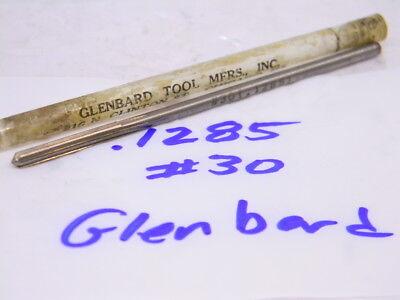 "NOS 13mm .5118/"" Glenbard #390 Reamer MT1 1MT USA HSS Morse Taper #1"