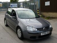 2008 Volkswagen Golf 1.4 TSI S 5dr petrol Grey turbo long MOT service history hpi clear