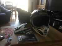 Motocross/enduro Fox V3 Pilot helmet Medium