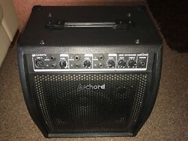 40 W Chord Keyboard amp and speaker.