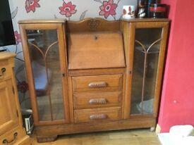 Vintage wooden cabinet/dresser/bureaux open to offers