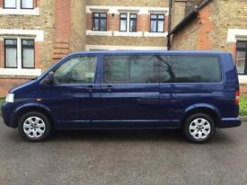 Volkswagen Caravelle Auto 2.5 TDI Diesel Automatic ,Transporter Bus 4dr , 8 Seater With Low Mileage