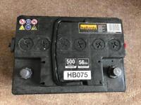 Halfords HB075 Car Battery