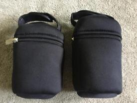 2 x Tommee Tippee Insulated Baby Bottle Carriers