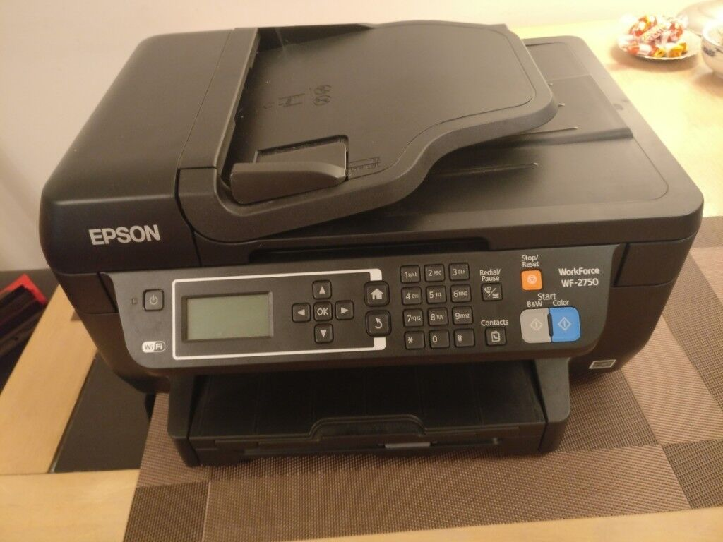 Printer 4-in-1 WorkForce WF-2750- Epson | in Morden, London | Gumtree