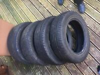 4 tyres good condition