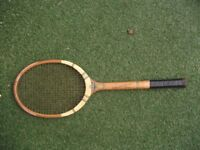 Vintage Lillywhite Frowd Tennis Racket