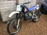 Yamaha dt125lc project