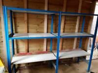Shelves for garage / shed