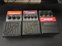 Rocktek and Arion vintage pedals