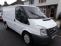 2009 Ford Transit 85 T260S fwd diesel van clean drives well boarded out with bulk head