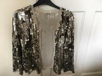 River island sequinned jacket