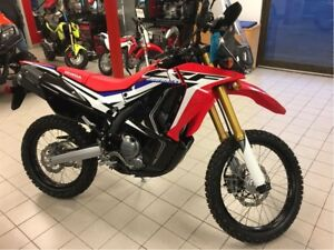 2017 Honda CRF250 Rally $34 Weekly Tax Included  SAVE $400