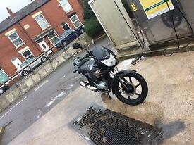 Cbf 125 2012 tax mot got front puncher and no log book hpi clear tho