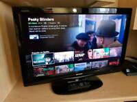 "SHARP 32"" HDTV **Brand New remote**"