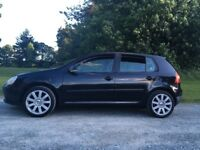 Vw golf 1.4 petrol 5 door in black