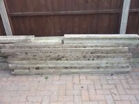 Concrete Slotted Fence Posts Concrete Recessed Gravel Boards