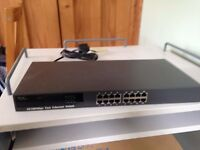Fast Ethernet switch 16 port 10/100 Mbps (N-way CF-16N)