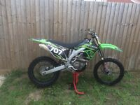 Kxf 450 2011 efi price reduced !!!crf yzf Rmz
