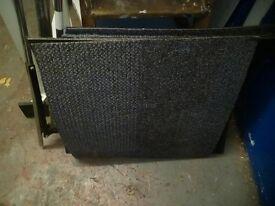 Carpet sqares. x 5. £3 each