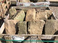 Original Stone Triangle Wall Tops