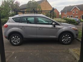 61 plate (2012) grey Ford kuga titanium with roof rails