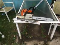 Stihl ms260c chainsaw