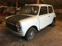 Classic mini 1000, Austin Morris mini, BMC mini, classic car