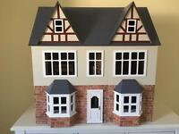 Sue Ryder Dolls House & Furniture - like Streets Ahead Orchard Avenue House