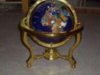 Lapis Lazuli Semi precious stone globe