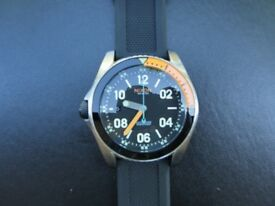 Nixon Men's Destro Left Hand 'Descender' Quartz Stainless Steel Watch New