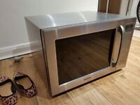 Sharp stainless steel Microwave combi oven