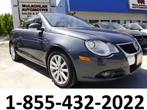 2007 VW Eos Hardtop Convertible 2.0T Turbo 4 Cyl FWD-SPRING SALE