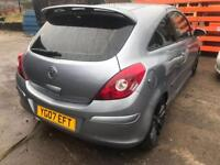 VAUXHALL CORSA SXI 1.4 MANUAL BREAKING FOR SPARES
