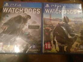 Sealed Watch dogs 1 & 2