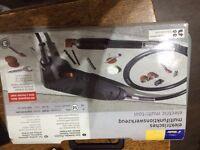 Tchibo Electric multi tool for sanding, polishing, drilling, engraving, etc - new
