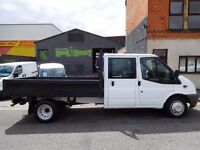 FINANCE AVAILABLE at £6.77 per day..Ford Transit double cab drop side with only 18k from new. (47)