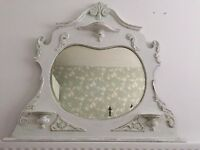 Vintage Mirror - Decorative - Shabby Chic style