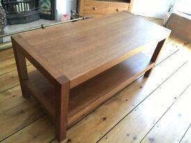 Laura Ashley lovely oak coffee table