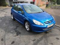 2005 Peugeot 307 2.0 hdi half leather interior 12 months mot/3 months parts and labour warranty