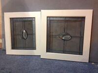 Brand new glass kitchen unit doors