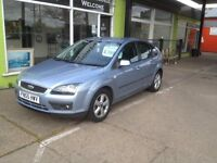2005 FORD FOCUS 1.6 BLUE LOW MILES AT 77K FULL MOT NEW TRYES