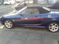 For sale Mg in perfect condition. Good offer consider .Roof working fine Cd player