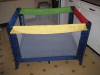 Mothercare Travel Cot for sale. Excellent Condition.
