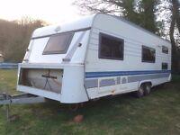 hobby 650 exclusive caravan 23ft