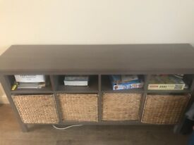 TV unit, book shelf and side in great condition