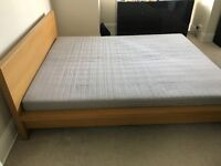 Ikea Superking double bed with mattress!