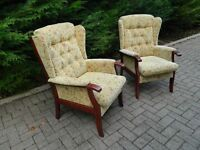 2 Country Cottage Fireside Chairs