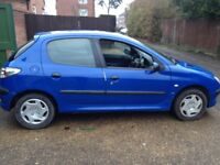 PEUGEOT 206 2.0 HDI DIESEL-GOOD ENGINE AND GEARBOX MOT MAY 2018-NEEDS A NEW CLUTCH SPARES OR REPAIRS