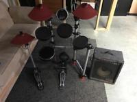 Medeli dd501 Electric Electronic Digital Drum Kit Set with amp